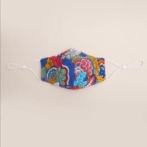 Women's Vibrant Paisley Face Mask